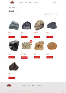 Shop - Buy My Rock Collection